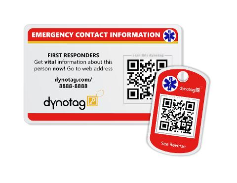 Dynotag SuperAlert ID Tags